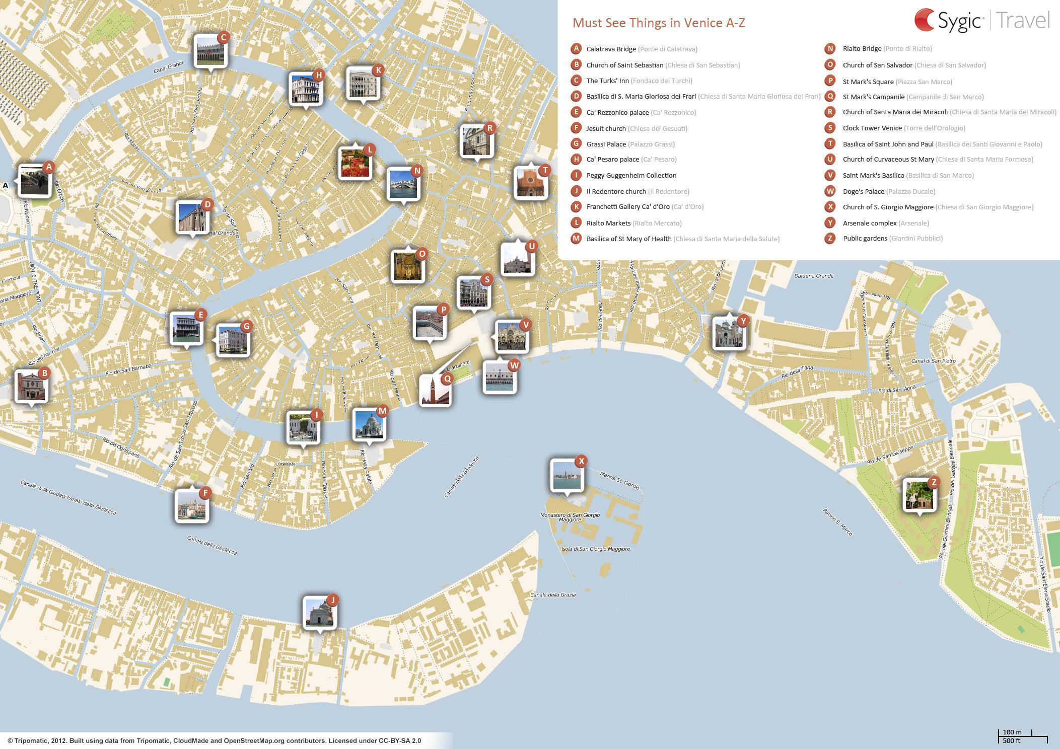 Veneciya Obzornaya Karta Veneciya Obzornaya Karta Italiya